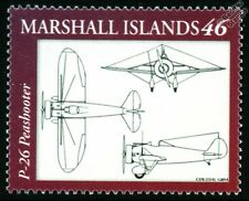 USAAC Boeing P-26 PEASHOOTER Fighter Aircraft Design Stamp