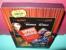 RAPSODIA DE JUVENTUD - ARCHIE L MAYO - DVD + LIBRO