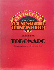 1969 OLDSMOBILE TORNADO  CATALOGUE EN ANGLAIS