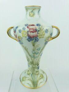 A Very Rare Wm Moorcroft for Ja's Macintyre Floral Spray on Pale Blue Vase.C1908