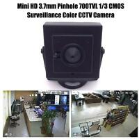 Mini Camera For HD 3.7mm Pinhole 700TVL 1/3 CMOS Surveillance Color CCTV #e