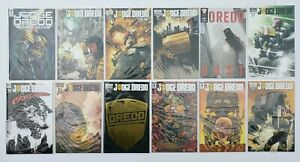 Judge Dredd Anderson misc Issues #1's IDW Comic Book LOT ×12 SALE