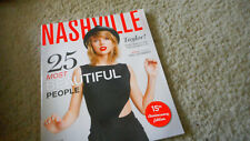 Taylor Swift Covers Nashville LifeStyles Magazine 25 Most Beautiful October 2014