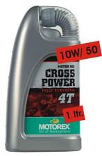 Motorex Cross Power 4T Fully Synthetic 4 Stroke Oil 1 Litre 10W/50 KTM SXF450