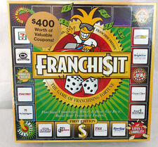 FranchiseIt Board Game Family Party Adults Kids Money Fortune Business Franchise