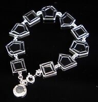 Marc Jacobs M0001098 Armreif Armband Farbe:Silber/Schwarz NEU!