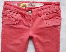 River Island Ladies Jeans Size 6 R r skinny LOVE & HONOUR Hot pink 26/30