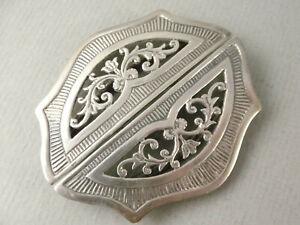 Fine Modern Silver NURSE'S BELT BUCKLE  - Hallmarked Birmingham 1988