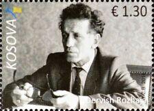 Kosovo Stamps 2016. Dervish Rozhaja, First rector of the University. Set MNH.