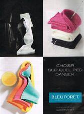 A- Publicité Advertising 2017 Les Chaussettes Bleuforet