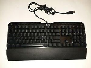 Redragon K555-R INDRAH Rainbow LED Backlit Mechanical Gaming Keyboard Black