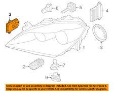 BMW OEM 11-16 X3 Headlight Head light lamp-Control Module 63117356250