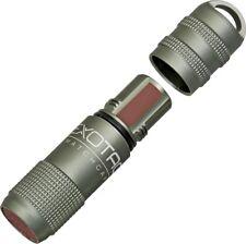 Exotac MATCHCAP Gunmetal Gray Survival water proof Match Case & Striker 1003-GUN