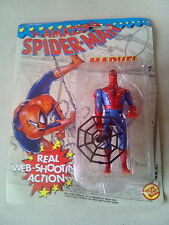 SPIDER-MAN ACTION FIGURE 1991 BY TOYBIZ  , WEB SLINGING ACTION .*U.K.AUCTION