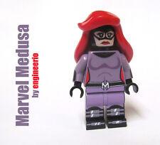 LEGO Custom - Medusa - Super heroes Marvel mini figure Inhumans Royal Family
