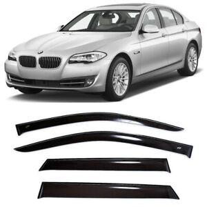 For BMW 5 (F10) Sd 2011-2016 Window Visors Side Sun Rain Guard Vent Deflectors