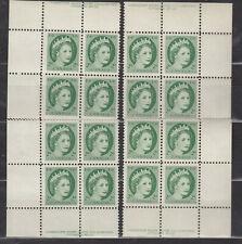 1954 #338 2¢ QUEEN ELIZABETH II WILDING PORTRAIT PLATE BLOCK #12 F-VFNH SCARCE