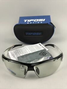 TIFOSI OPTICS Crit Crystal Black Fototec Lens Sunglasses Cat. 1-2 - NEW