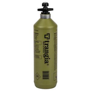 Trangia Flüssigbrennstoff-Sicherheitstankflasche 1,0 l oliv Brennstoffflasche