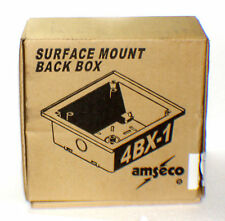 AMSECO POTTER 4BX-1 White Surface Mount Back Box for Speakers 27-4BX1W