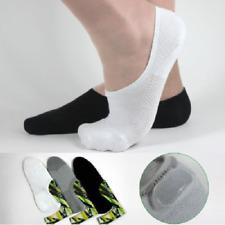 5 Pairs Mens/Womens Bamboo Fiber Loafer Short Socks Liner Low Cut No Show Socks