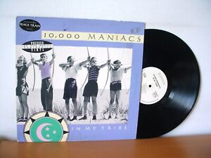 10,000 MANIACS In My Tribe WHITE LABEL PROMO Audiophile LP 1987 ELEKTRA 9 60738)