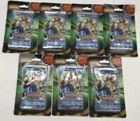 Yugioh Legend of Blue Eyes White Dragon LOB Booster Pack Lot Of 7 *New Sealed*