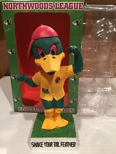 New Madison Mallards Mascot Bobblehead not Brewers 2004 Shake Your Tail Feather