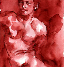 ORIGINAL MALE NUDE Sienna Ink - MARTIN- by GERMANIA