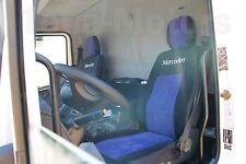 1+1 MERCEDES ATEGO Housses de siège auto sur mesure + Appui-tête Protection Noir