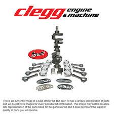 CHEVY 454-460 SCAT STROKER KIT, 2PC RS, Hyper(Dome)Pist., I-Beam Rods