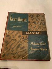 Kent Moore Automotive Manual 1960