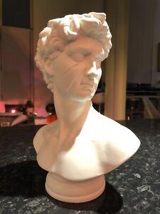 """Ziggy"" I Walen BUST / Sculpture. Banksy & Michaelangelo David X David Bowie"