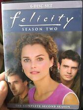 Felicity Season 2 region 1 DVD (6 discs) Keri Russell drama tv series * rare *