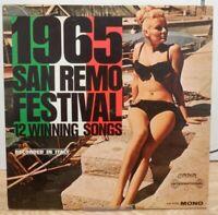 1965 San Remo Festival 12 Winning Songs TW 91372 Mono 33rpm 070920DBE