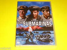 THE FROGMEN / LUCHAS SUBMARINAS English Español DVD R2 Precintada