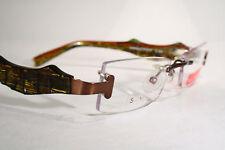148694b5b25 Women s Eccentric Chic Wild Rimless BELLINGER Danish Eyeglasses Glasses  Frames