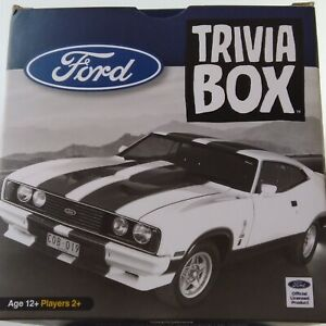 FORD Trivia Box BRAND NEW