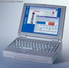 Vintage Toshiba Satellite 320CDS P233MMX 32MB 4GB Notebook Computer Windows 98