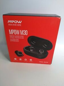 Mpow M30 TWS Wireless Earpiece Bluetooth 5.0 Headphone Sport Stereo Bass Earbuds