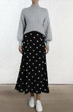 Zimmermann Spot Silk Skirt