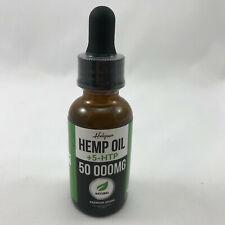 Helopssa Hemp Oil Drops +5-HTP 50 000 MG Pain Relief Stress & Anxiety Sleep