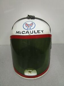 """Vintage 1960 Col McCauley """"Men into Space"""" William Lundigan Helmet from Ideal"""