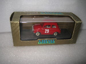 1.43 EARLY VITESSE 1965 FIAT STEYR-PUCH 650 T RALLY MONTE CARLO #29 RED #LO15