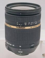Aperture Error - Tamron 18-270mm F3.5-6.3 Di II VC Nikon AF-S Camera Zoom Lens
