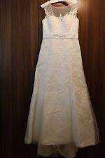 Brautkleid Hochzeitvon Kleemeier Model15275 ivory-cremeweiß Gr.42