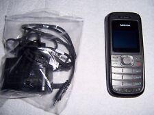 Nokia 1208 - Schwarz/Grau (ohne Simlock, ohne Vertrag) Handy
