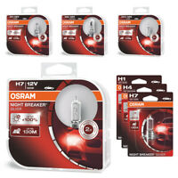 OSRAM Night Breaker SILVER +100% H1 H4 H7 H11 Halogen Headlight Bulb SET BOX