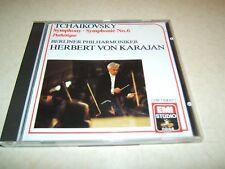 TCHAIKOVSKY SYMPHONY NO 6 : BERLIN / VON KARAJAN  CD ALBUM EMI
