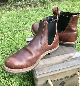 MENS RED WING 2917 RANCHER BOOTS SIZE UK 9 1/2 EXCELLENT CONDITION *FREE POSTAGE